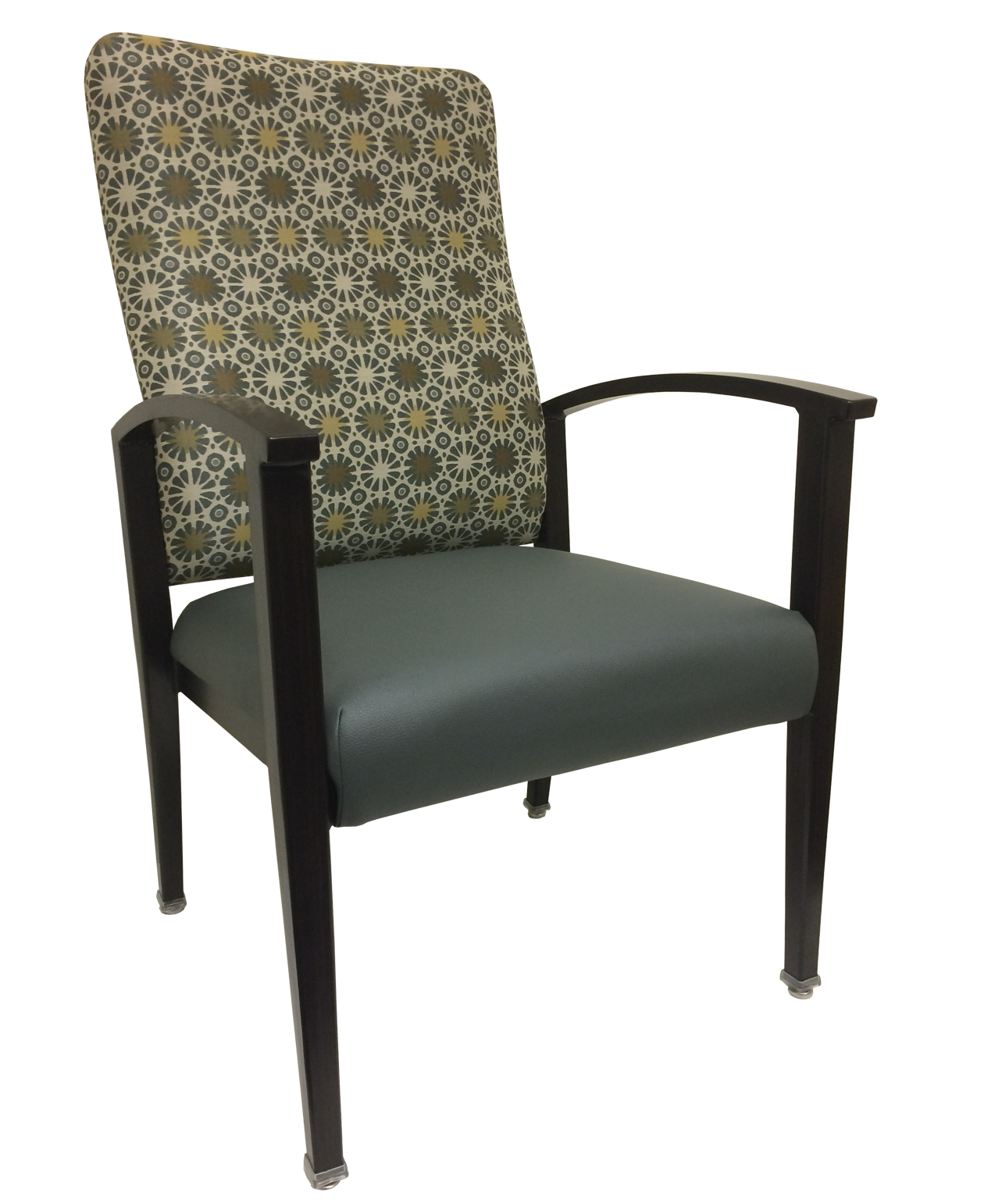 Aluminum Wood-Grain Resident Room Chairs