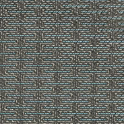 Taboret Silver Teal