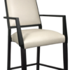 BS-465-WA-24 Dawson Counter Stool With Arms Artist Rendering
