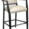BS-465-WA Dawson Barstool With Arms Artist Rendering