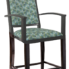 BS-471-WA-24 Ryno Counter Stool With Arms Artist Rendering