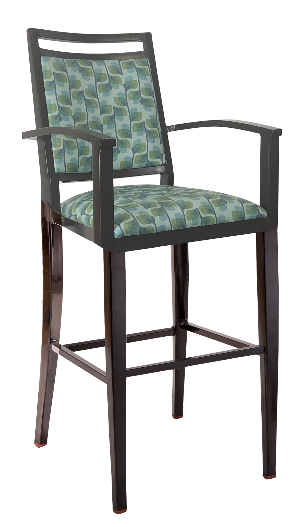 BS-471-WA Ryno Bar Stool With Arms Artist Rendering