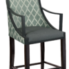 BS-734-WA-24 Payton Counter Stool With Arms Artist Rendering